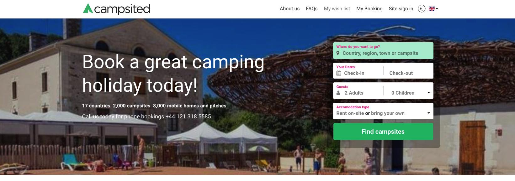 campsited