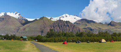 Camper à la montagne