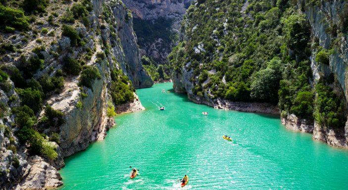 Que faire et voir pendant des vacances en campings dans les Gorges du Verdon.