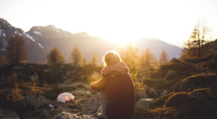 camping a la montagne