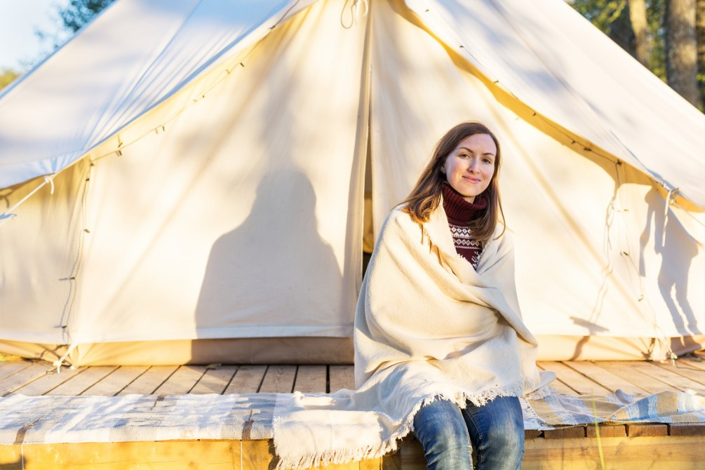 Camping Hacks Tips blanket