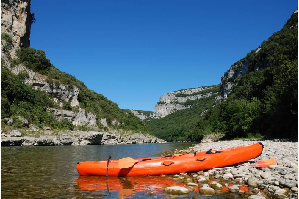 kayaking in Ardeche, France